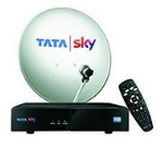 Tata Sky HD Box with One Month Star Telugu Premium Pack