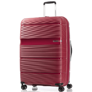 American Tourist Trolley Polypropylene 66 cms Red Hardsided Check-in Luggage (GH1 (0) 00 002)