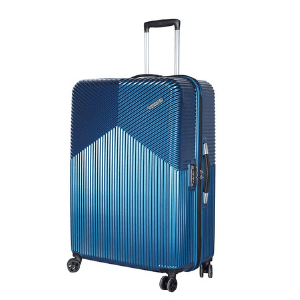 American Tourist Trolley Polycarbonate 79 cms Moonlight Blue Hardsided Check-in Luggage (FC6 (1) 21 003)