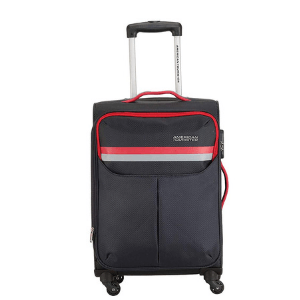 American Tourister Detroit Polyester 57 Cms Grey Softsided