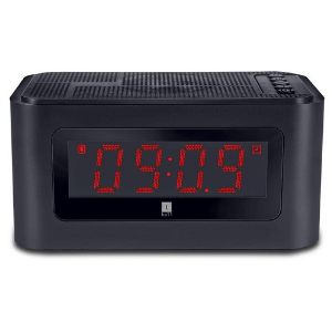 iBall Sound Clock Bluetooth Portable Speaker with Digital Clock and Alarm